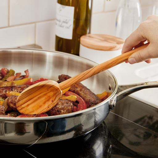 gift for people who love to cook olive wood spoon