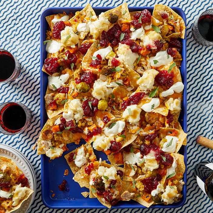 thanksgiving leftover nachos