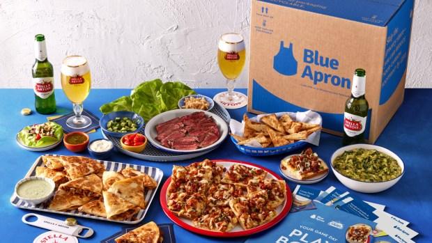 Blue Apron Super Bowl Box Meal Kit