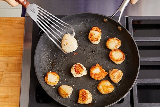 how to sear scallops