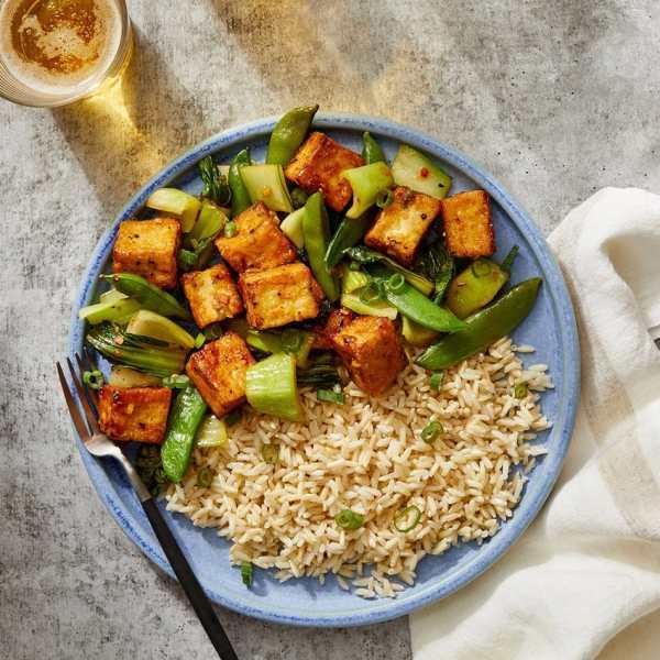 plant-based protein tofu