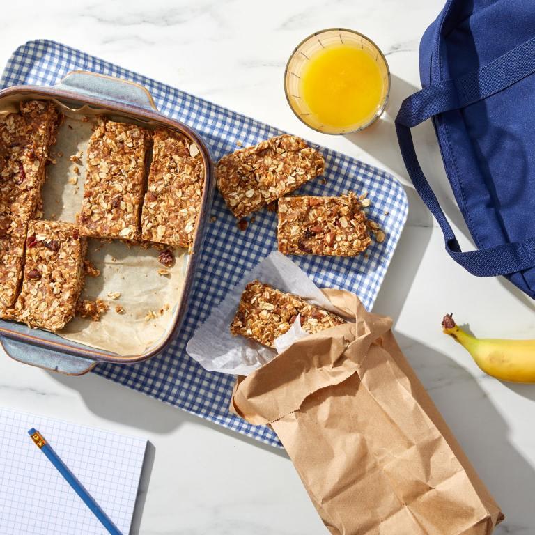 make ahead granola bars