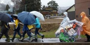 車椅子の雨と防寒対策に