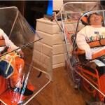 特注車椅子のアンブレラ