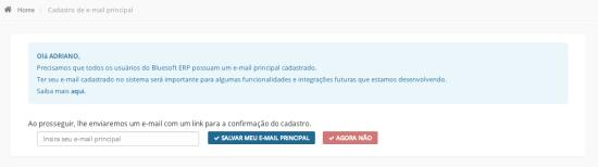 EmailCadastro