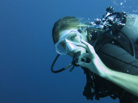 Sean Clement on a dive in Timor-Leste