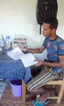 Studying for university | Photo: Feno Hanitriniala