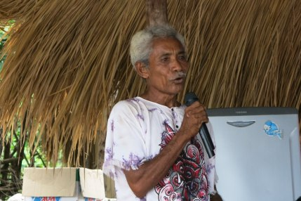 Local leader speaks about the importance of marine conservation
