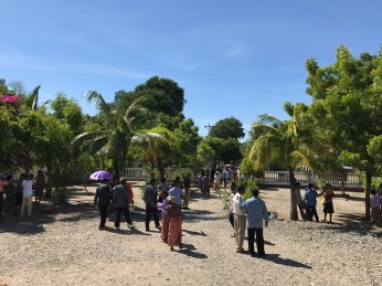 Sunday Churchgoers in Biqueli Village | Photo: Christina Saylor
