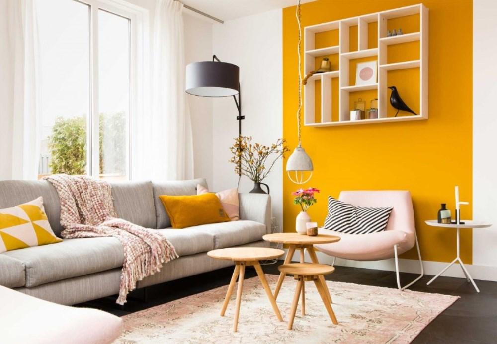 Jaune curry  couleurs et styles  lui associer  BnbStaging le blog