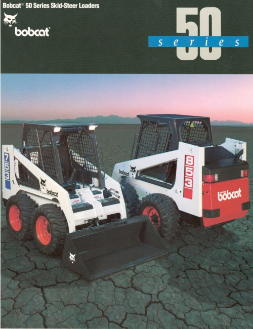 small resolution of bobcat 50 series loader worked like a boss