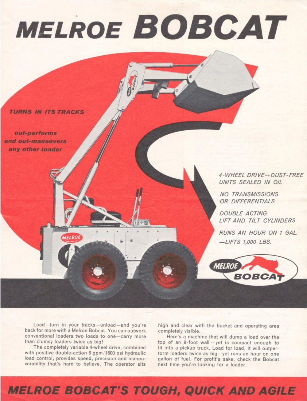 medium resolution of m440 was first bobcat loader in 1962 bobcat blog rh blog bobcat com bobcat 763 hydraulic