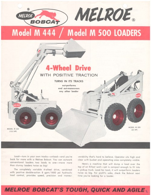 small resolution of m440 was first bobcat loader in 1962 bobcat blog rh blog bobcat com bobcat 763 hydraulic system diagram schematic for bobcat 753 hydraulic hose