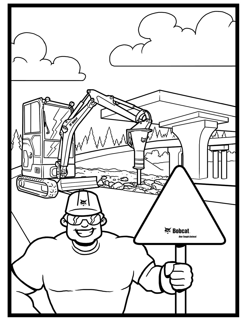 Maintenance Equipment Operator Jobs Coloring Pages