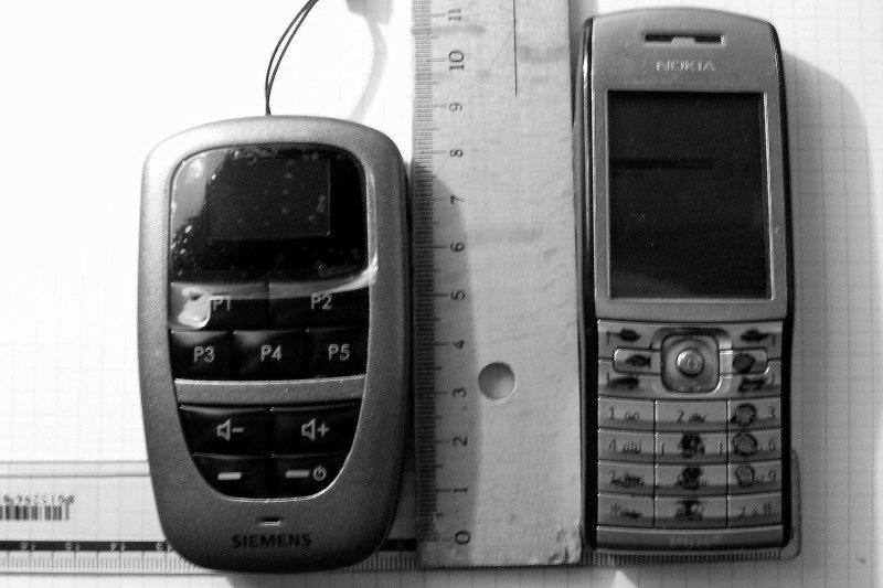 PIlot Siemens TEK + Nokia E50
