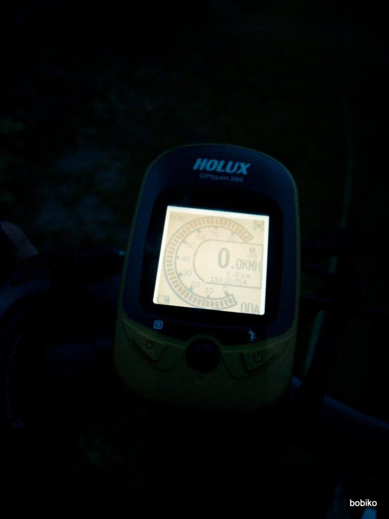 Holux GPSport 260 wnocy