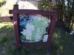 Mapa Borów Tucholskich