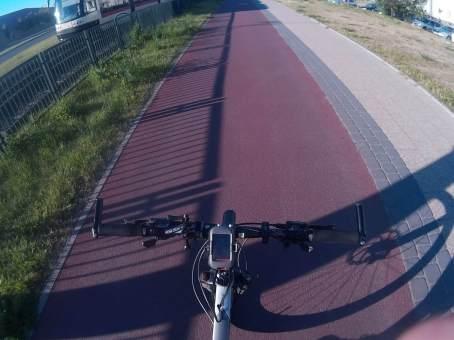 Uwielbiam taki asfalt, zwłaszcza w Gdańsku