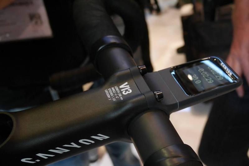 Nowość - Canyon Smart Bike Computer (źródło: Canyon)