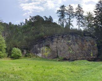 M.in. takie formacje skalne