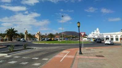 Fuertaventura - rondo Corralejo i sciezka rowerowa