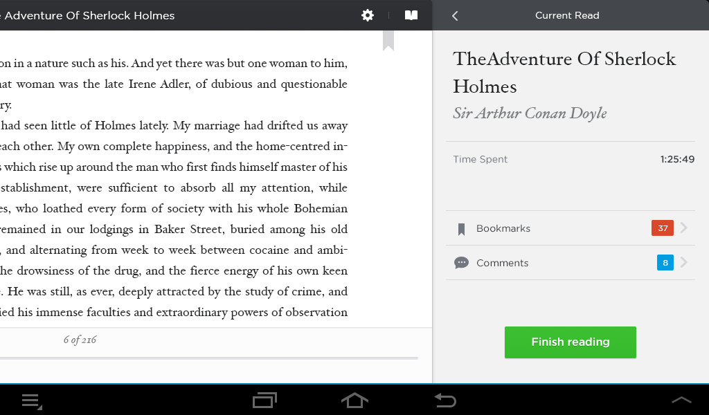 eBook Android Reader, Moon+, FBreader