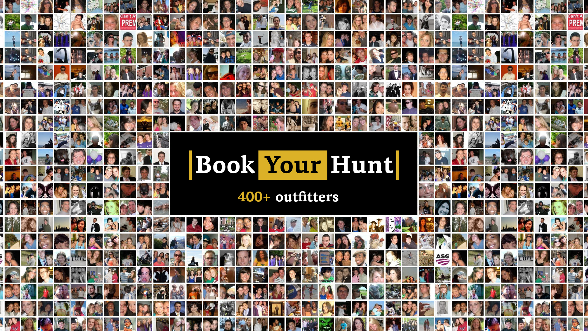 400 outfitters on BookYourHunt.com