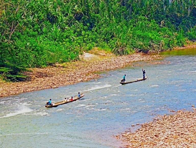 bolivia boats river