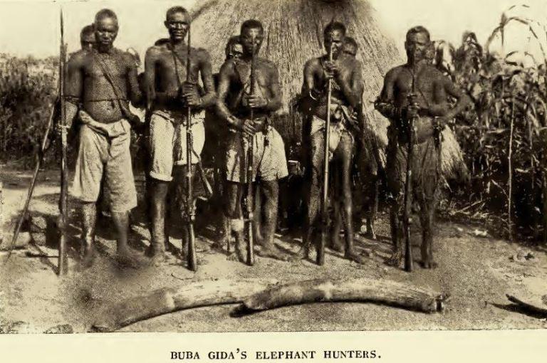 native elephant hunters
