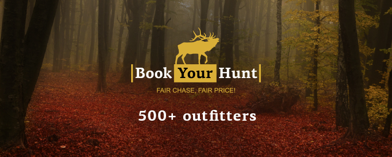500 outfitters on BookYourHunt.com