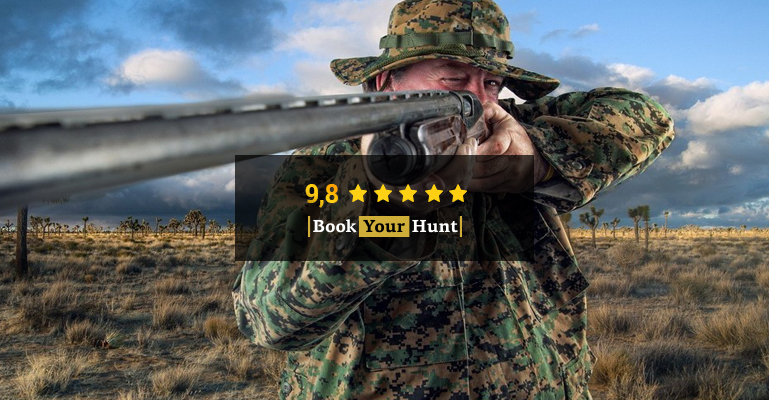A hunter aims for a quality experience and BookYourHunt.com rating is here to help