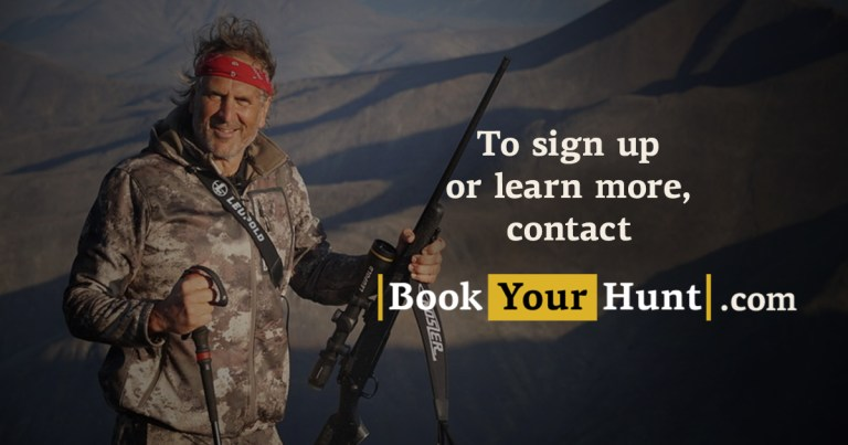 Contact BookYourHunt.com to take part in lease program