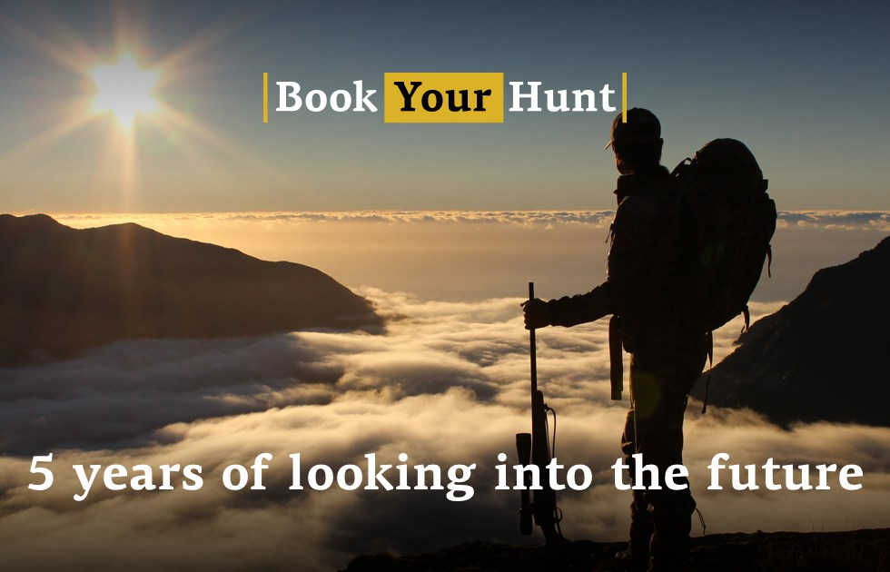 BookYourHunt.com 5 years of looking into the future