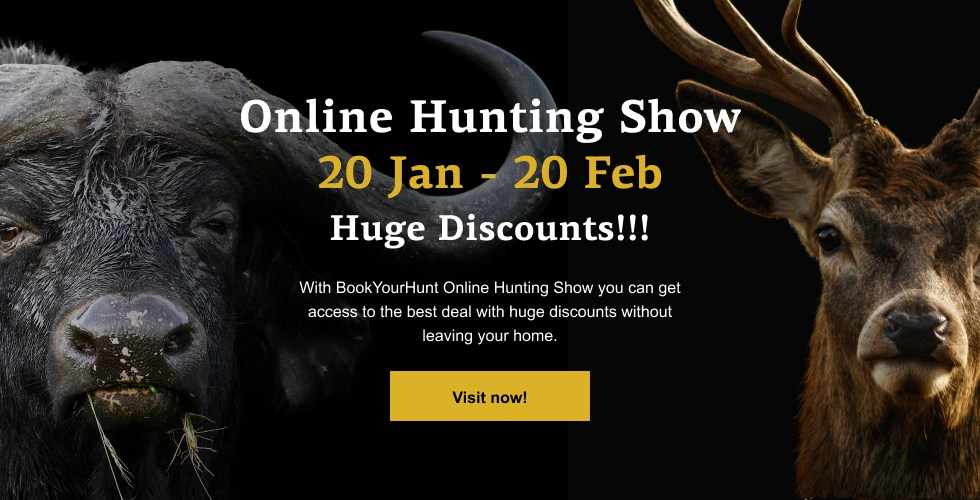 BookYourHunt.com virtual hunting show announcement