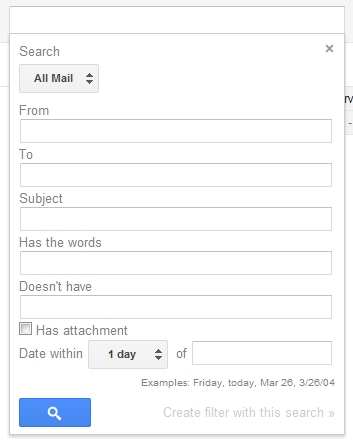 how to find archived emails in gmail app