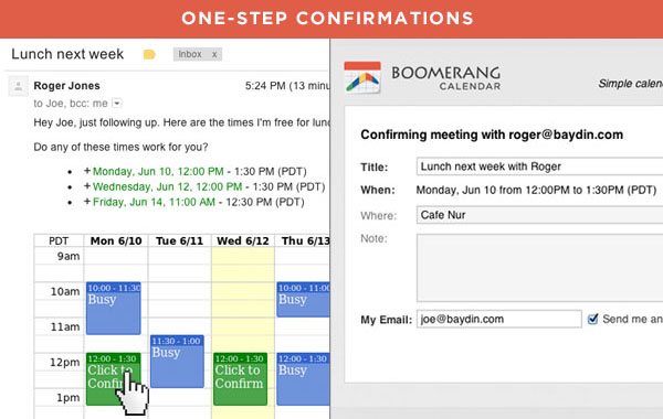 New To Boomerang Calendar Schedule Meetings In A Single Email