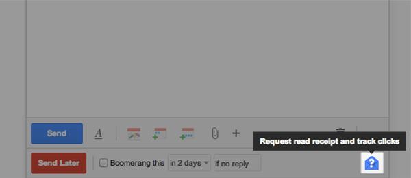Read Receipt Screenshot