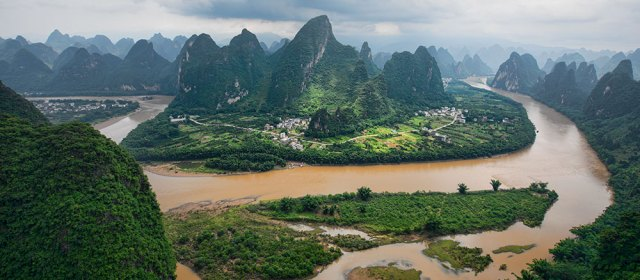 Boomeranging Around China