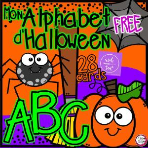 Mon Alphabet d'Halloween by Peg Swift French Immersion