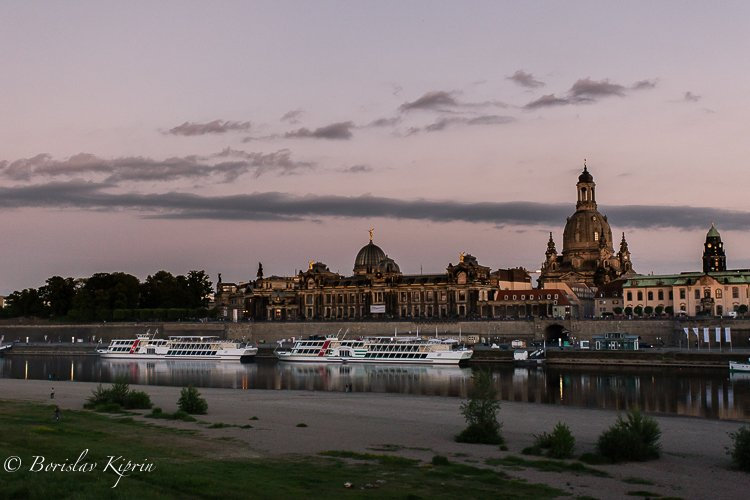 Dresden's sunset -1