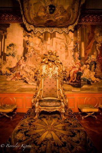 The Swedish throne