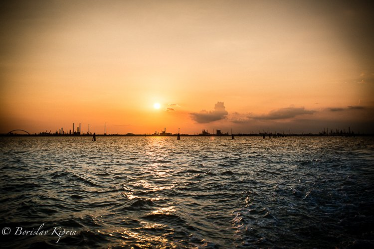 Venice sunset 1