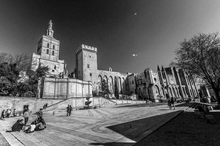 Avignon palace