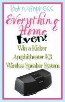 Win a Kicker Amphitheater K3 Wireless Speaker System