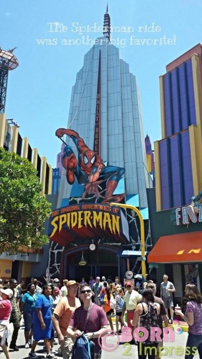 Universal Orlando Spiderman