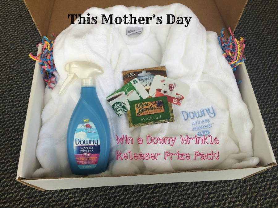 Downy Wrinkle Releaser Plus Gift Box Giveaway