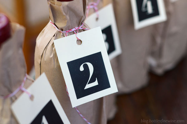 free printable numbered tags for a blind wine tasting party