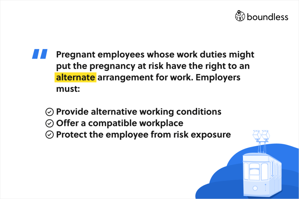 protection of pregnant employees