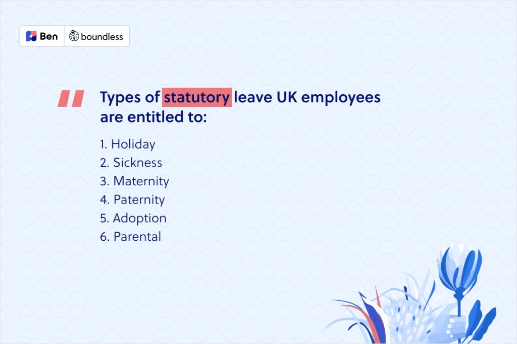 statutory leave in the UK