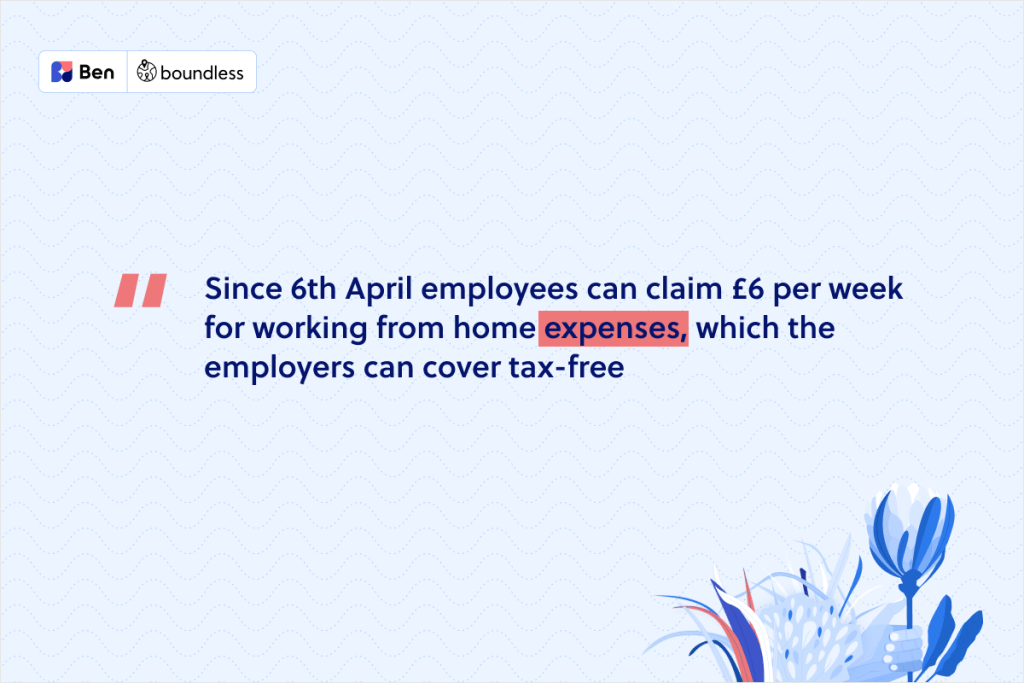 expenses due to working from home